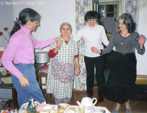 Apasya & her daughters dancing January 13, 2001