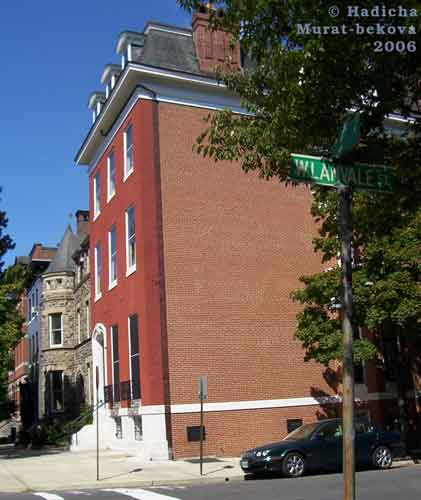 the Fisher home, 1301 Park Avenue, Baltimore, MD