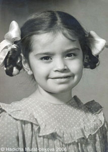 Hadicha as an older child