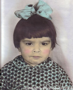 Hadicha as a very young child