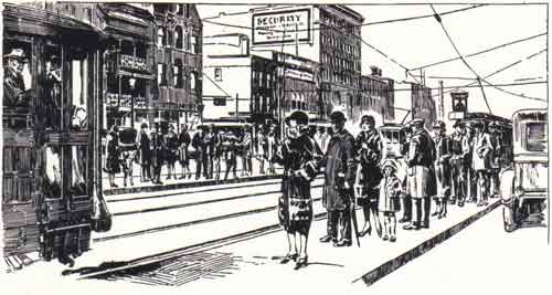 United Railways & Electric Co. streetcar, circa 1926, Baltimore